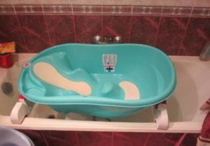 детская ванночка на ванную