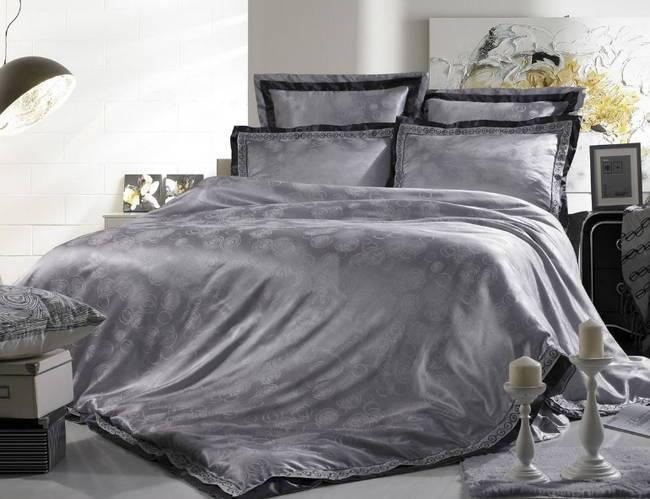 постельное белье из жаккардового шелка, вискоза