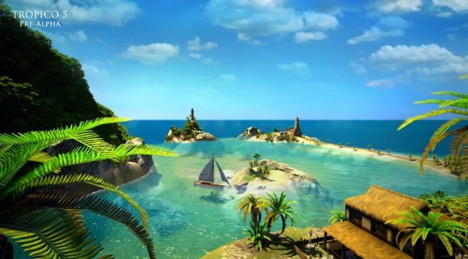 Тропико 5. Райский остров