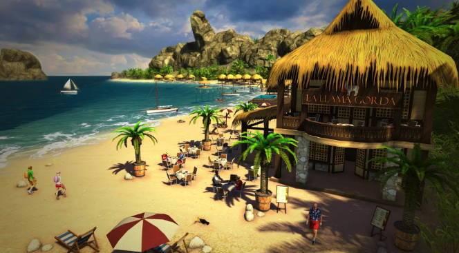 Райский остров Тропико
