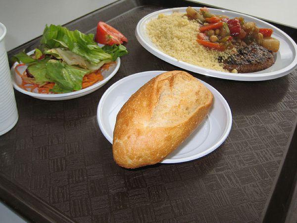 Обед школьников во Франции