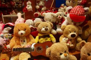 засилье мягких игрушек