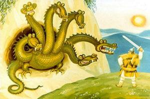 Как Никита Кожемяка Змея горыныча победил