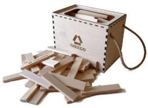 Деревянный конструктор для детей Триго