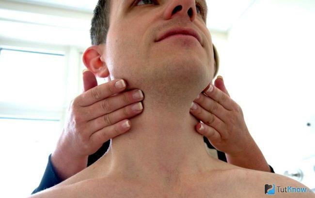Воспаление лимфатических узлов