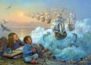 ребенок в мире сказок