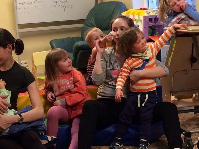 развивающий детский сад для детей с ДЦП