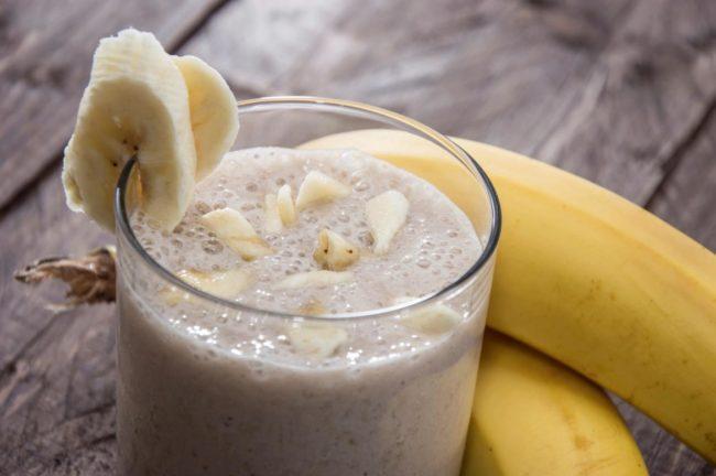 бананово-творожный крем