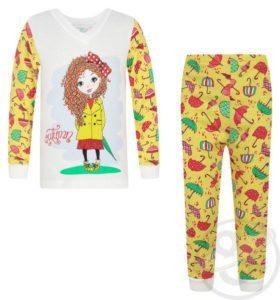 ночная пижама для девочки 7 лет
