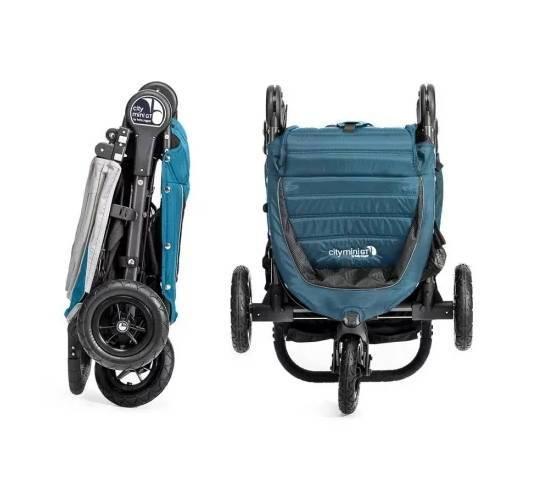 Коляска Baby Jogger City Mini GT в сложенном виде