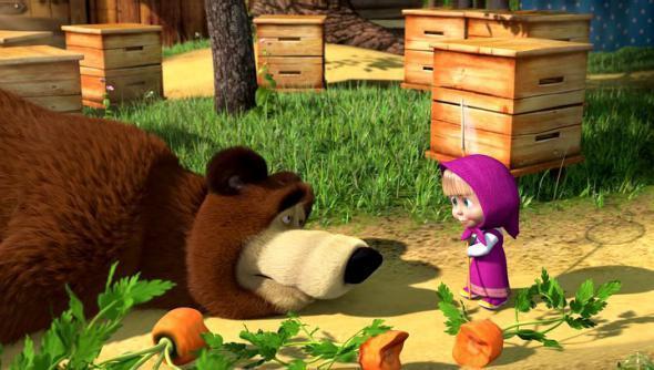 бедный медведь и Маша