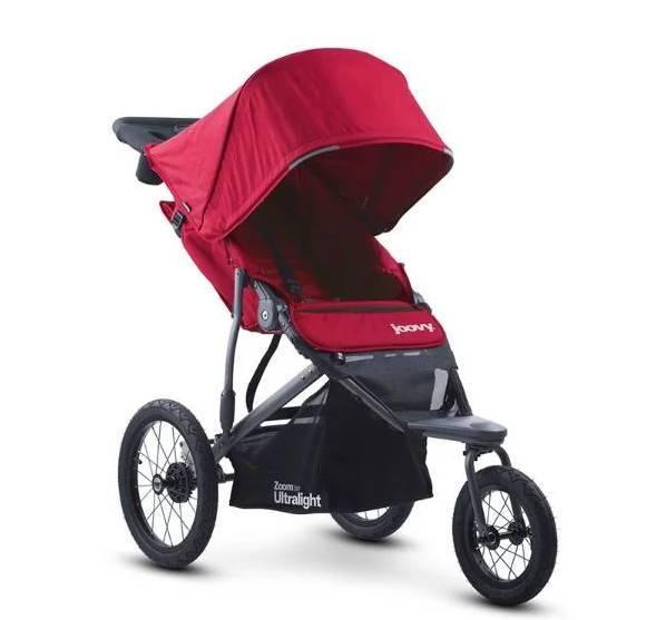 детская коляска с большими колесами и капюшоном OOVY Zoom 360 Ultralight