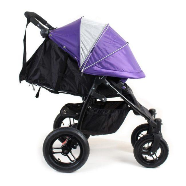 детская коляска с большими колесами и капюшоном Valco Baby Quad X