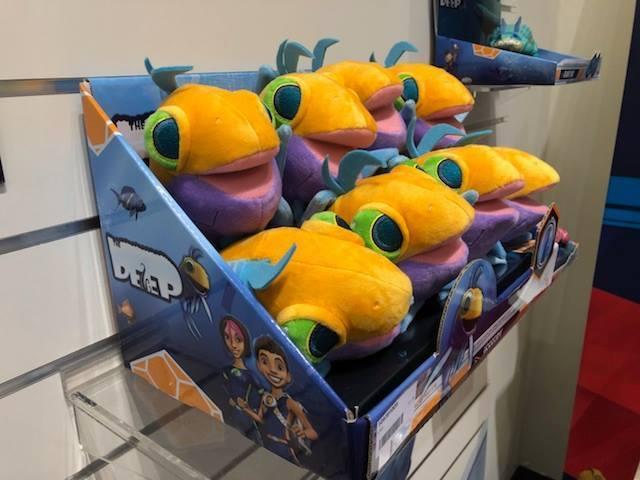 игрушки по вселенной сериала Глубина