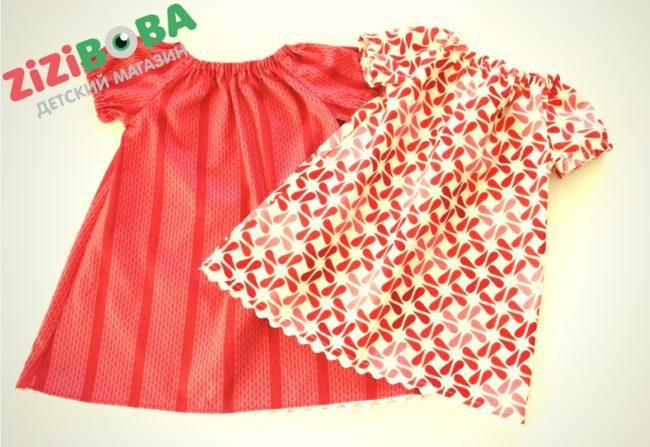 платье для девочек из магазина Зизибоба