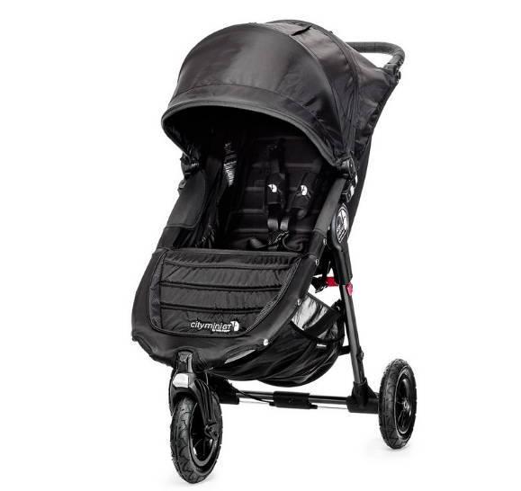 прогулочная коляска с большими колесами и капюшоном Baby Jogger City Mini GT