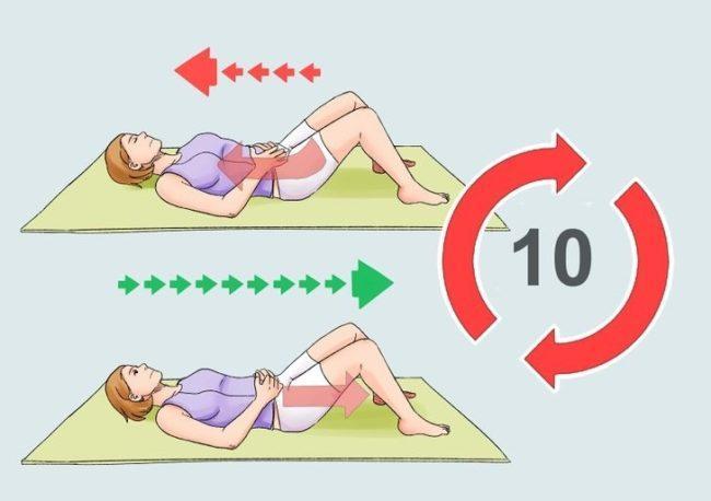 Как правильно делать упражнение Кегеля