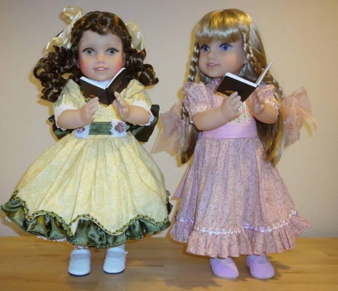 Куклы в вере Life of Faith dolls