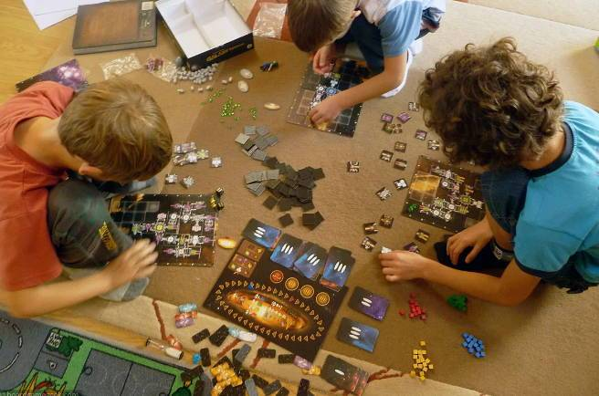 увлекательные настольные игры для детей