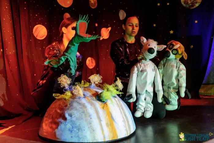 спектакль в интерактивном детском театре