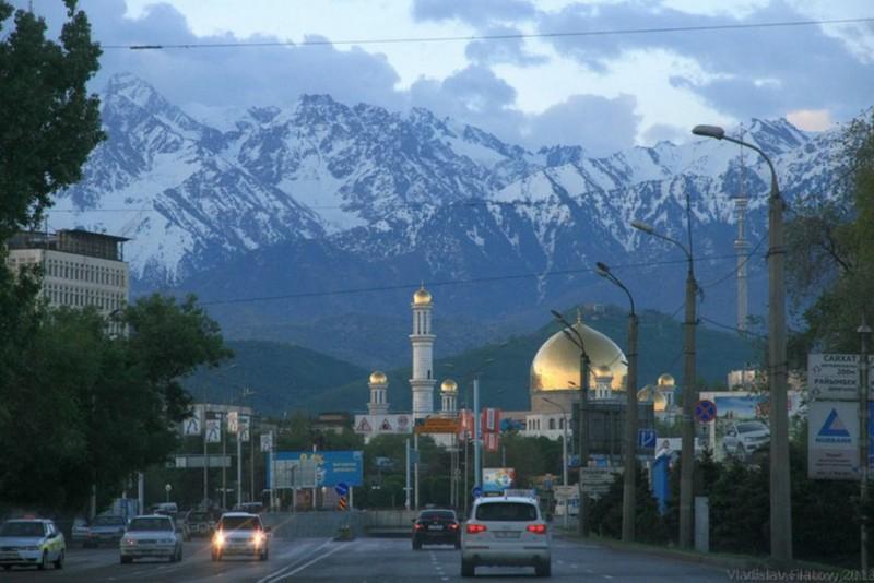 Алма-Ата. Красавец в горах