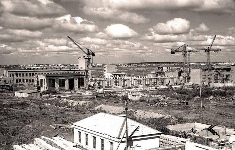 Нижний Тагил. Строительство завода в 50-х годах