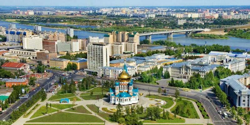 Панорама Омска