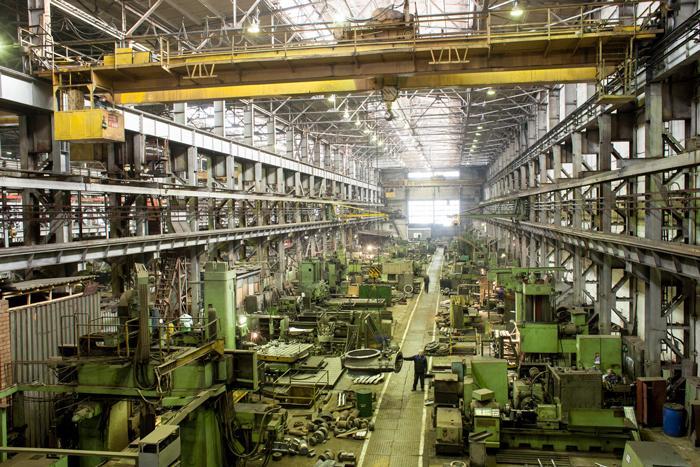 Работа на Иркутском заводе тяжелого машиностроения