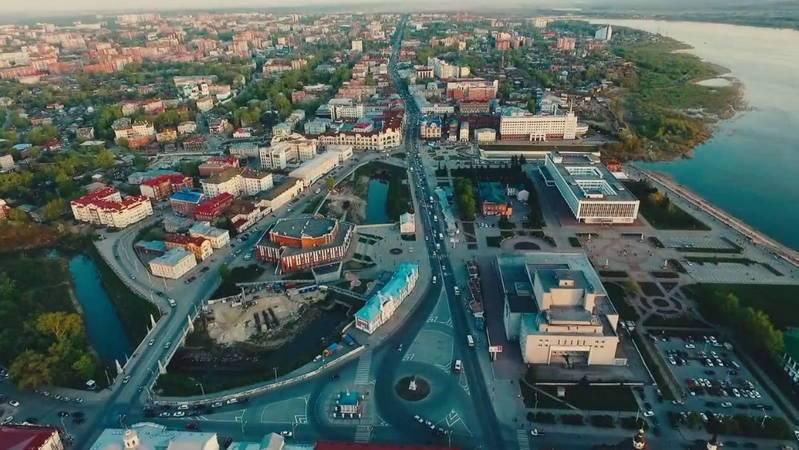 Томск. Общий вид