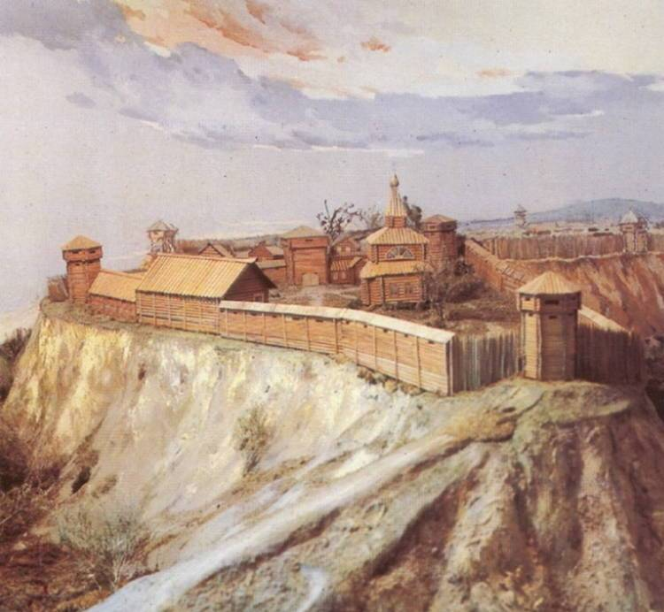 Томск. Первая крепость
