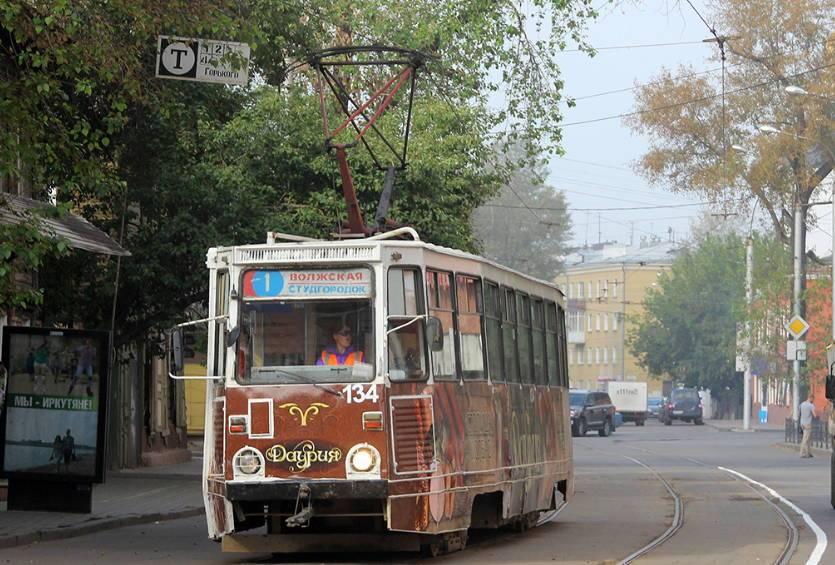 Трамваи в Иркутске живут по своим собственным правилам