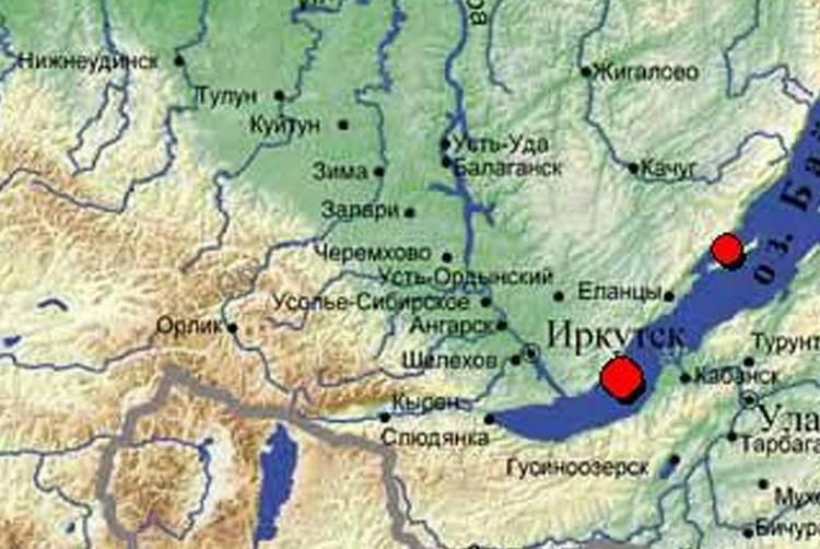 Землятресения в Иркутске не редкость