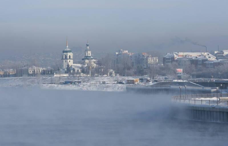 морозы в Иркутске - явление привычное