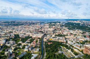 Санкт-Птербург с высоты птичьего полета