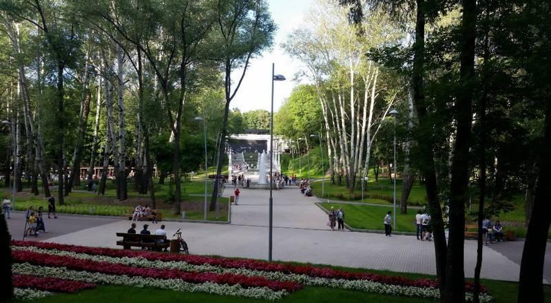 Центральный парк культуры в воронеже