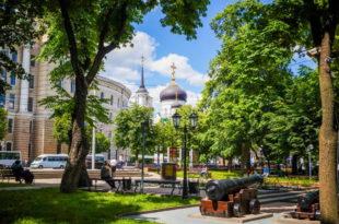 Воронеж летом. Райское место