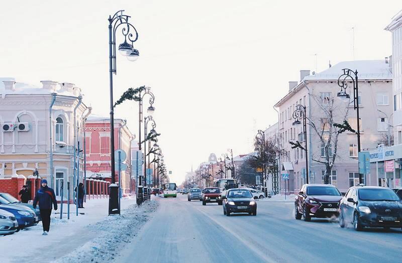 Зима в Тюмени не такая уж и лютая