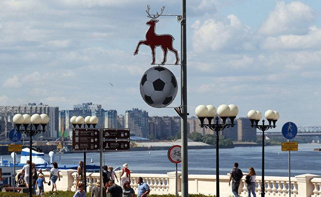 Нижний Новгород к чемпионату мира 2018