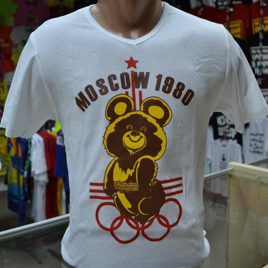 футболка олимпиада 80