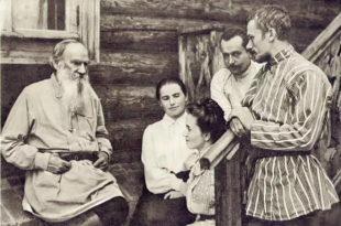 Лев николаевич первым примерил на себя толстовку