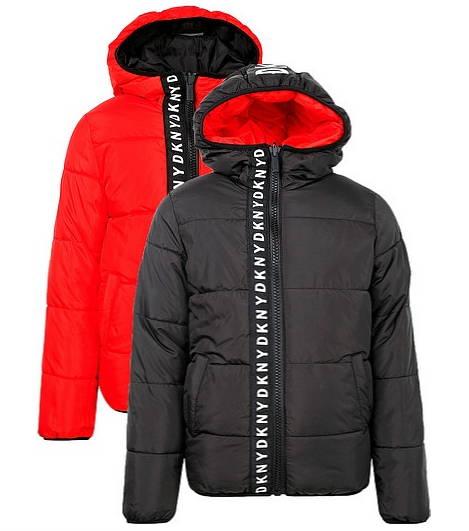 Демисезонная двусторонняя курта для мальчика DKNY