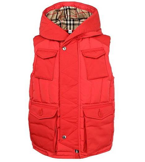 утепленный жилет для мальчика Burberry - отличный вариант на осень и весну