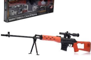 игрушечная снайперская винтовка в подарок мальчику