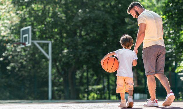 Баскетбол для самых маленьких