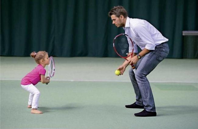 большой первый шаг в большой теннис