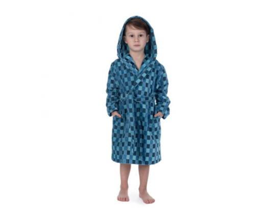 халат с капюшлном для мальчика