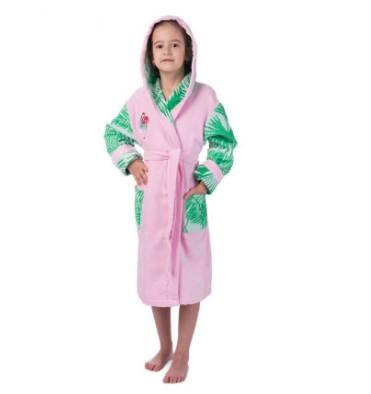 яркий халат для девочки